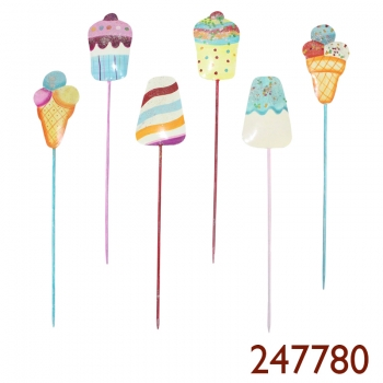 ICECREAM Stecker 6er 7 x 31 cm