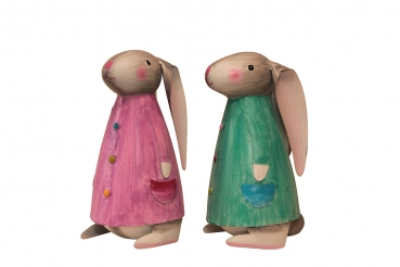 HASE BETTY 2er M 15x14x26 cm